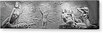 Canvas Print featuring the photograph Sirens by Kristin Elmquist