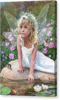 Sissy Fairy Canvas Print