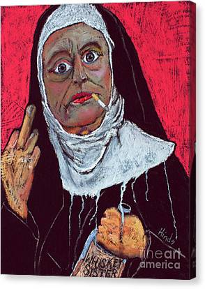 Sister Sara Canvas Print by David Hinds