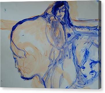 Sisterhood Canvas Print by Judith Redman