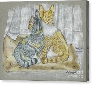 Sisters  Canvas Print by Carol Wisniewski