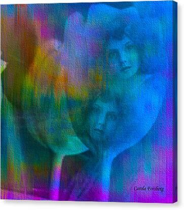 Sisters Canvas Print by Carola Ann-Margret Forsberg