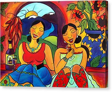 Sisters - Hermanas Canvas Print
