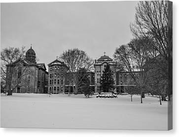 Sisters Of Mercy Convent And Schools Merion Canvas Print by Bill Cannon