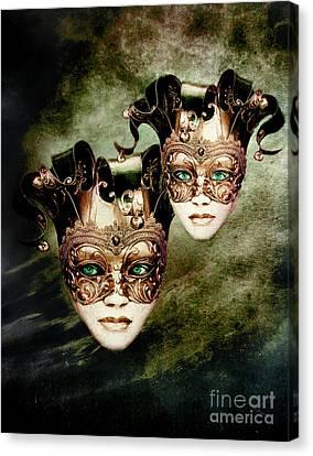 Sisters Canvas Print by Jacky Gerritsen