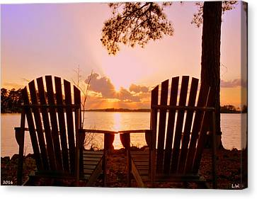 Sit Down And Relax Canvas Print