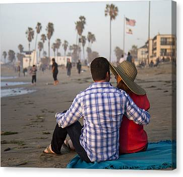 Canvas Print featuring the photograph Sit With Me Forever by Nathan Rupert