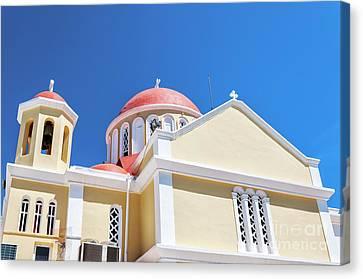 Sitia Church Canvas Print