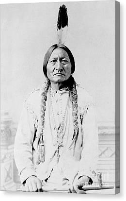 Sitting Bull, A Hunkpapa Lakota Tribal Canvas Print by Stocktrek Images