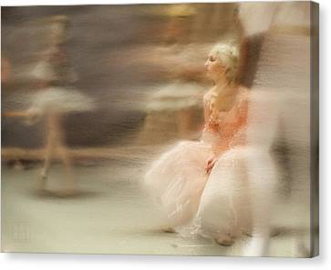 Ballerinas Canvas Print - Fairy Story by H James Hoff