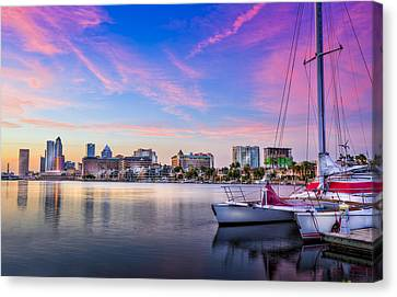 Oak Canvas Print - Sitting On The Dock Of The Bay by Marvin Spates
