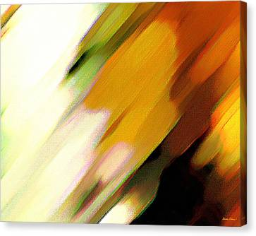 Canvas Print featuring the painting Sivilia 2 Abstract by Donna Corless