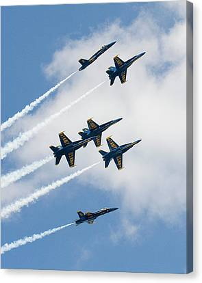 Six Angels Canvas Print by Alan Raasch