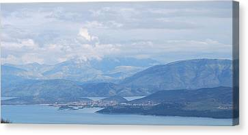 Six Islands  Canvas Print by George Katechis