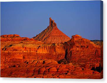Six Shooter Peak Canvas Print by Greg Norrell
