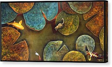 Sizing It Up Canvas Print by Stephen Schubert