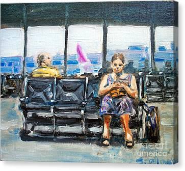 SJC Canvas Print by Sheila Tajima