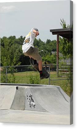 Skateboarding 18 Canvas Print by Joyce StJames
