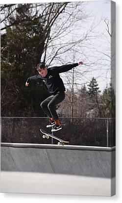 Skateboarding 25 Canvas Print by Joyce StJames