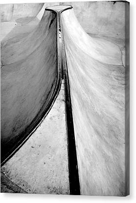 Skateboarding Canvas Print by Kenneth Carpenter