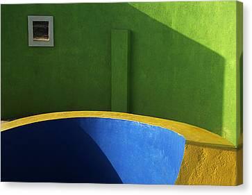 Skc 0305 The Fundamental Colors Canvas Print