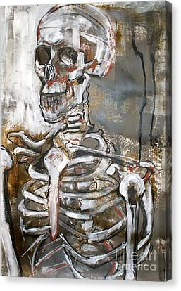 Skeleton 1 Canvas Print