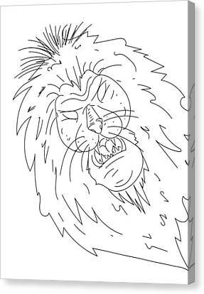 Sketch A15 Canvas Print