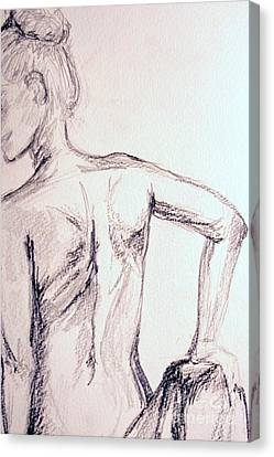 Sketch Class 2 Canvas Print