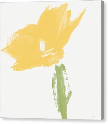 Book Cover Canvas Print - Sketchbook Yellow Rose- Art By Linda Woods by Linda Woods