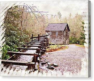 Sketchy Mingus Mill 3 Canvas Print