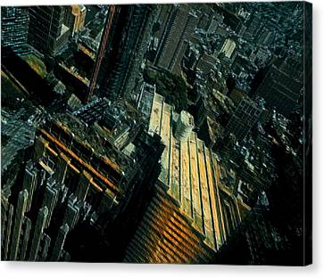 Canvas Print - Skewed View by Gina Callaghan