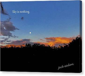 Skg Is Nothing Canvas Print by Jack Eadon