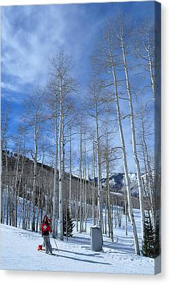 Ski Patrol Canvas Print