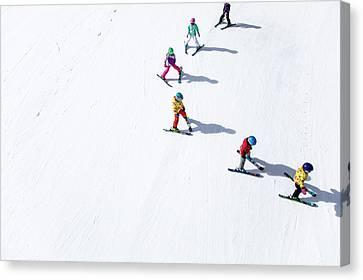 Ski  Canvas Print by Tom Cuccio