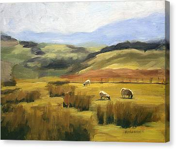 Skiddaw Massif  Canvas Print