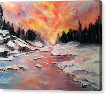 Skies Of Mercy Canvas Print