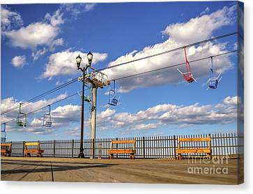 Skies The Limit Canvas Print by Bob Cuthbert