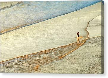 Skim Surfing  Canvas Print by Eyal Nahmias