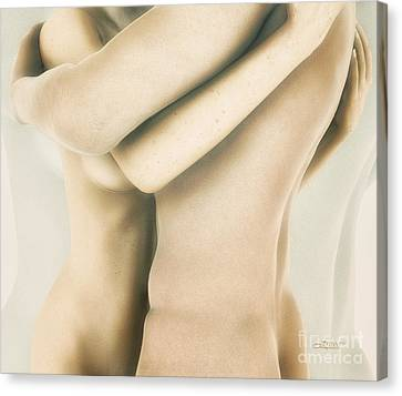 Skin On Skin Canvas Print