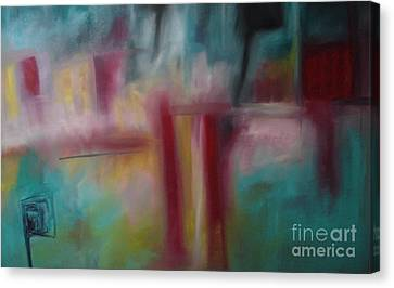 Skip Canvas Print by Maria Curcic