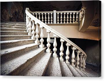 Skirt Stair Canvas Print by Svetlana Sewell