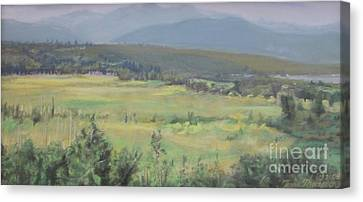 Skokomish Valley Canvas Print by Terri Thompson