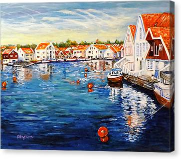Skudeneshavn Norway Canvas Print