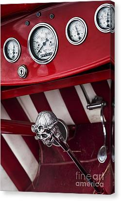 Skull Shifter Canvas Print by Tim Gainey