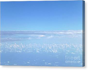 Canvas Print - sky and clouds M1 by Francesca Mackenney
