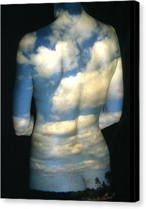 Sky Canvas Print by Arla Patch