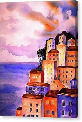 Sky At Dusk  Canvas Print by Carlin Blahnik