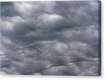 Sky Before Rain Canvas Print by Michal Boubin