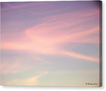 Canvas Print featuring the photograph Sky Dancer by Betty Northcutt