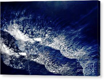 Bruster Canvas Print - Sky Emulating The Sea by Clayton Bruster